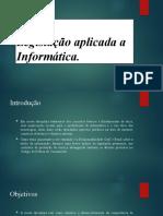 Slide apresentação