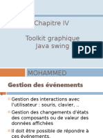 Chap IV  pptp - Toolkit graphique- Java Swing V5- Gestion des evenements V5E 1.pdf