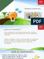 1-INNOVACION  PARTE 1 - DESARROLLO DE PRODUCTOS 2019