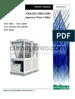 MAC chiller modular (15 a 120 tons)