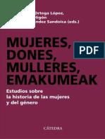 「AA., VV.」 Mujeres, dones, mulleres, emakumeak (Cátedra).epub