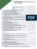 Protocolo Inventário Portage 2020