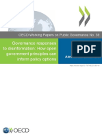 Governance responses to disinformation OECD 2020