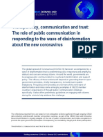 Transparency, communication and trust OECD 2020
