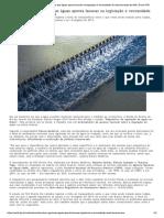 Estudo sobre regulação das águas