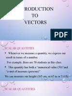 General Physics I Module 3-4