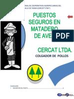 2 COLGADOR DE POLLOSs