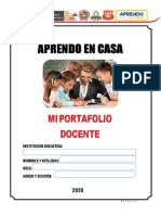 Portafolio docente - Aprendo en casa.pdf