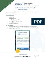 Manual de Usuario Mis Compras del Programa de Alimentación Escolar -PAE- V1.0