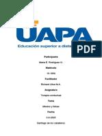 Terapia conductual Unidad #4.docx