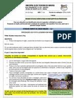 ATIVIDADE REMOTA DE INGLÊS - 12.1