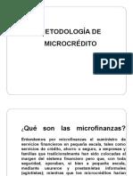 METODOLOGIA DE MICROCREDITO