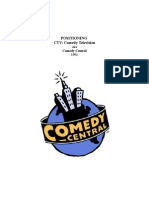Positioning Comedy Central (neé CTV