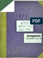 Ordinul Ministrului Afacerilor Interne nr. 2673 din 01.10.1968
