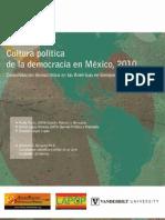 Cultura política de la democracia en México 2010