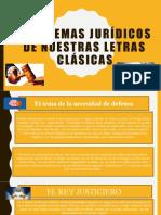 Problemas Jurídicos en Letras Clásicas