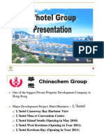 Website L'hotel Presentation