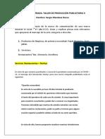 EVALUACION DE ENTRADA