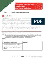 actividades prácticas relacionadas con la secuencia didáctica