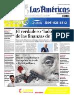 DIARIO LAS AMÉRICAS Edición semanal del 2 al 8 de octubre de 2020