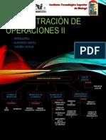 Administración de operaciones II EXPOCICION