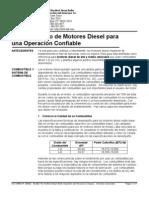 mantenimiento de motores diesel para una operación confiable