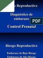 dx embarazo,riesgo reproductivo y control prenatal