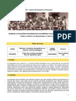 Museus e coleções etnográficas no império colonial português curso SESC