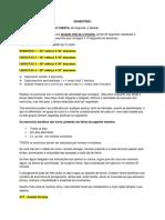 DESAFIO 3 - PLANILHA DE TREINO