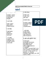 Reguli de pronunţie limba franceză.2