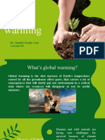 Global warming actual and future consequences