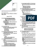 Probability & Statistics (BEG203HS)