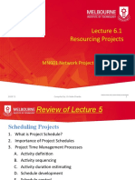 2020 T2 MN601 Lecture 6.1 Resourcing Projects