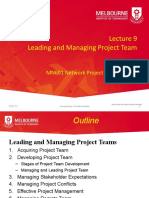 2020 T2 MN601 Lecture 9 Leading and Managing Project Team.pptx