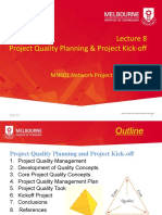 2020 T2 MN601 Lecture 8 Quality Planning and Kickoff