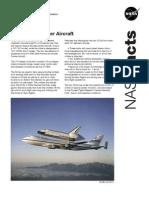 NASA Facts 747 Shuttle Carrier Aircraft