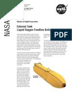 NASA Facts External Tank Liquid Oxygen Feedline Bellows