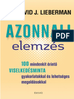 Dr. David J. Lieberman - Azonnali elemzés