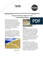 NASA Facts Forward Bipod Fitting