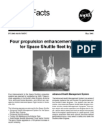 NASA Facts Four Propulsion Enhancements Planned for Space Shuttle Fleet by 2005