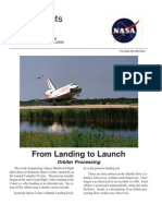 NASA Facts From Landing to Launch Orbiter Processing