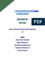 Kerala Judicial Service Examination [ Munsiff Magistrate] 2011 Self Study Kit