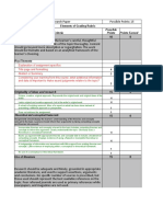 Sample Paper Grading Rubric