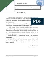 Português 3º ano  - O Segredo do Rio- Gramática 2