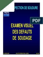 Defauts de Soudure - Couleur
