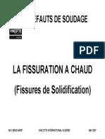 Defauts de Soudure - Fissuration à Chaud.pdf