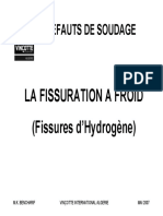 Defauts de Soudure - Fissuration à Froid (d'Hydrogene).pdf