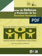 6 Programa de Defensa y protección