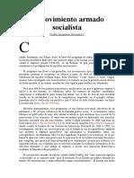 El movimiento armado socialista I  II