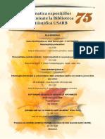 Tematica expoziţiilor organizate în luna octombrie de Biblioteca Ştiinţifică USARB